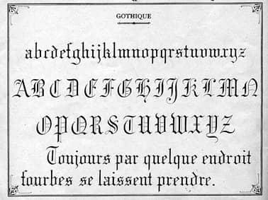 lettre du 19eme siecle exemple